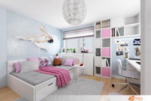e7fddd31d2767 Návrhy dětských pokojů - návrhy interiérů pro studenty